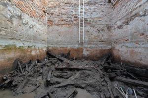 Stredoveká cisterna na Pustom hrade